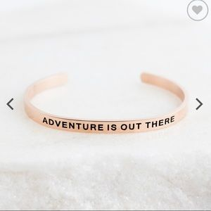 """Lillian & Co. """"Adventure is Out There"""" Bracelet"""